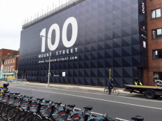 100 Mount Street, Dublin, Construction Wrap