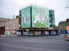 7 Up, Dublin, Scaffolding Wrap