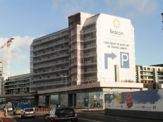 Irelands Largest Banner 4500sqm, Dublin, Construction Wrap