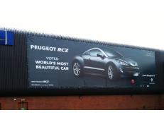 Peugeot Dublin, Outdoor Advertising