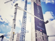 Capital Dock Banner, Building Wrap